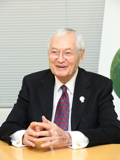 President of the International Competition Jury Roger Corman