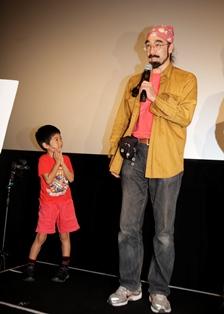 相川さんと息子、泰治